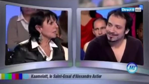 """Alexandre Astier et Chantal, de """"Qui veut épouser mon fils ?"""", en 2010 (source : capture d'écran """"Morandini !"""")"""
