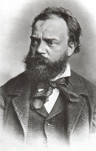 Portrait d'Antonin Dvorak (1841-1904) (source : Wikipédia)
