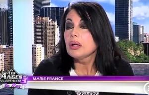 """Marie-France, de """"Qui veut épouser mon fils ?"""", en 2011 (source : capture d'écran NRJ12)"""