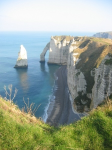 Les falaises d'Etretat, en Normandie (Creative Commons)